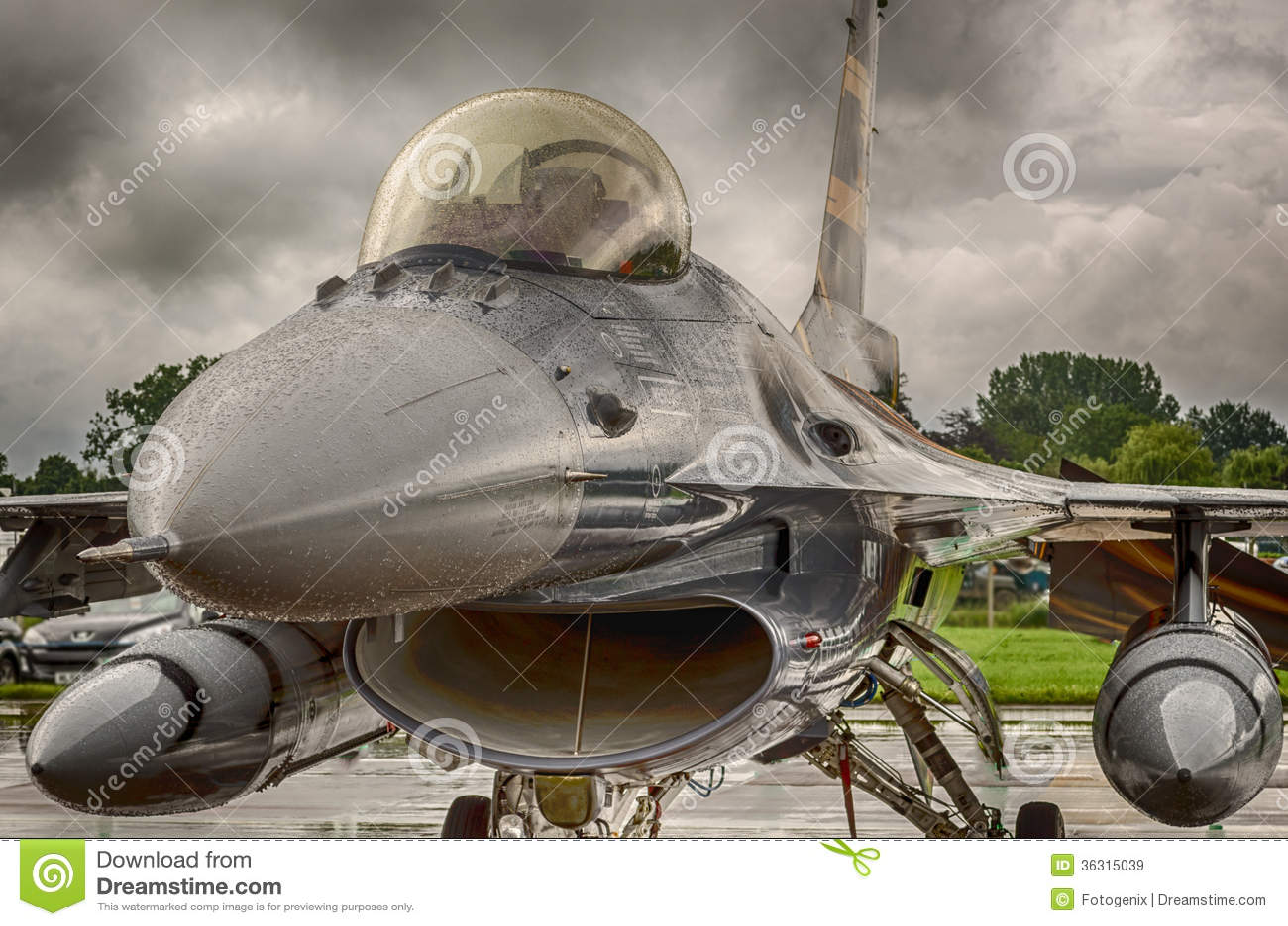 Avião de combate F16