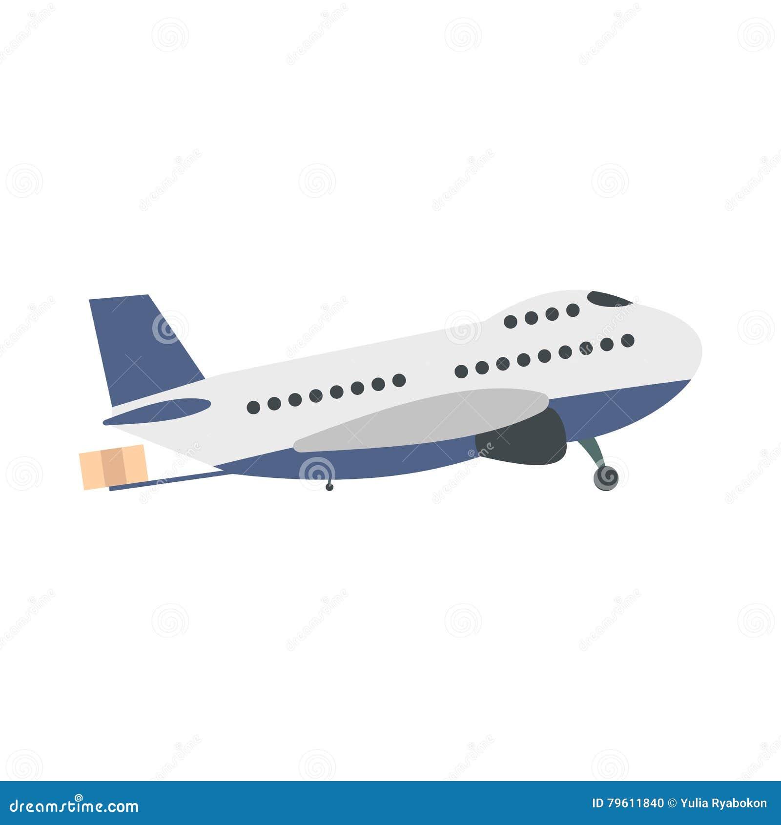 Avião do passageiro liso