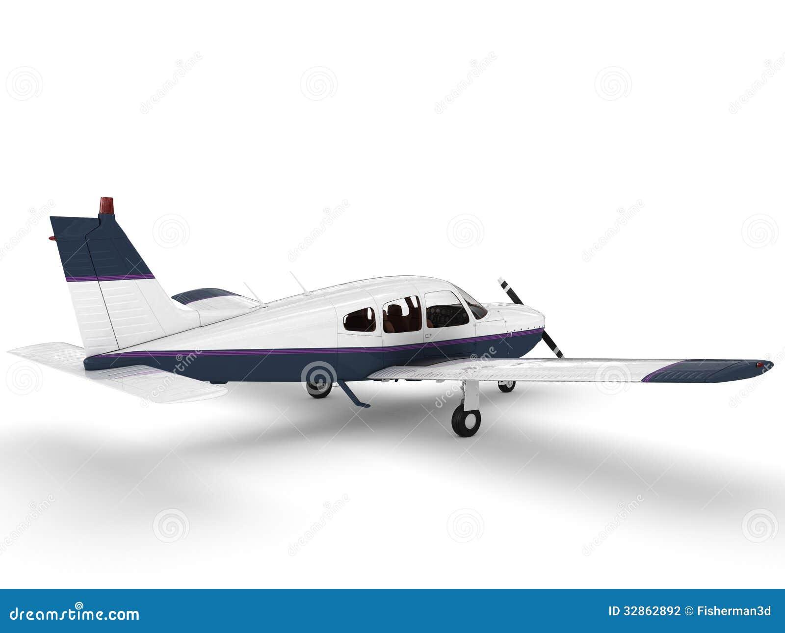 Avião moderno pequeno do passanger