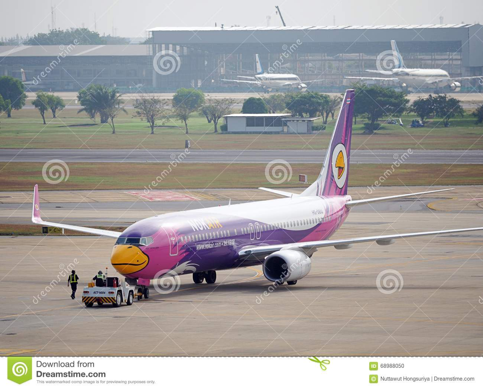 Avión de aire de la NOK, líneas aéreas nacionales en Tailandia
