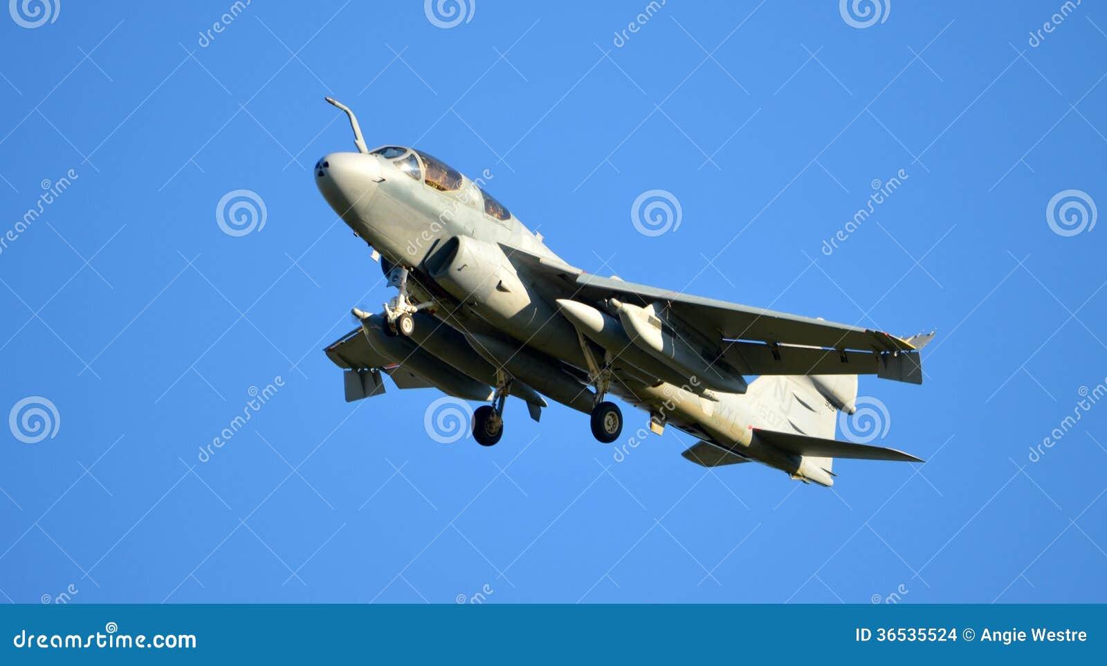 Avión del merodeador de la marina de guerra de los E.E.U.U.