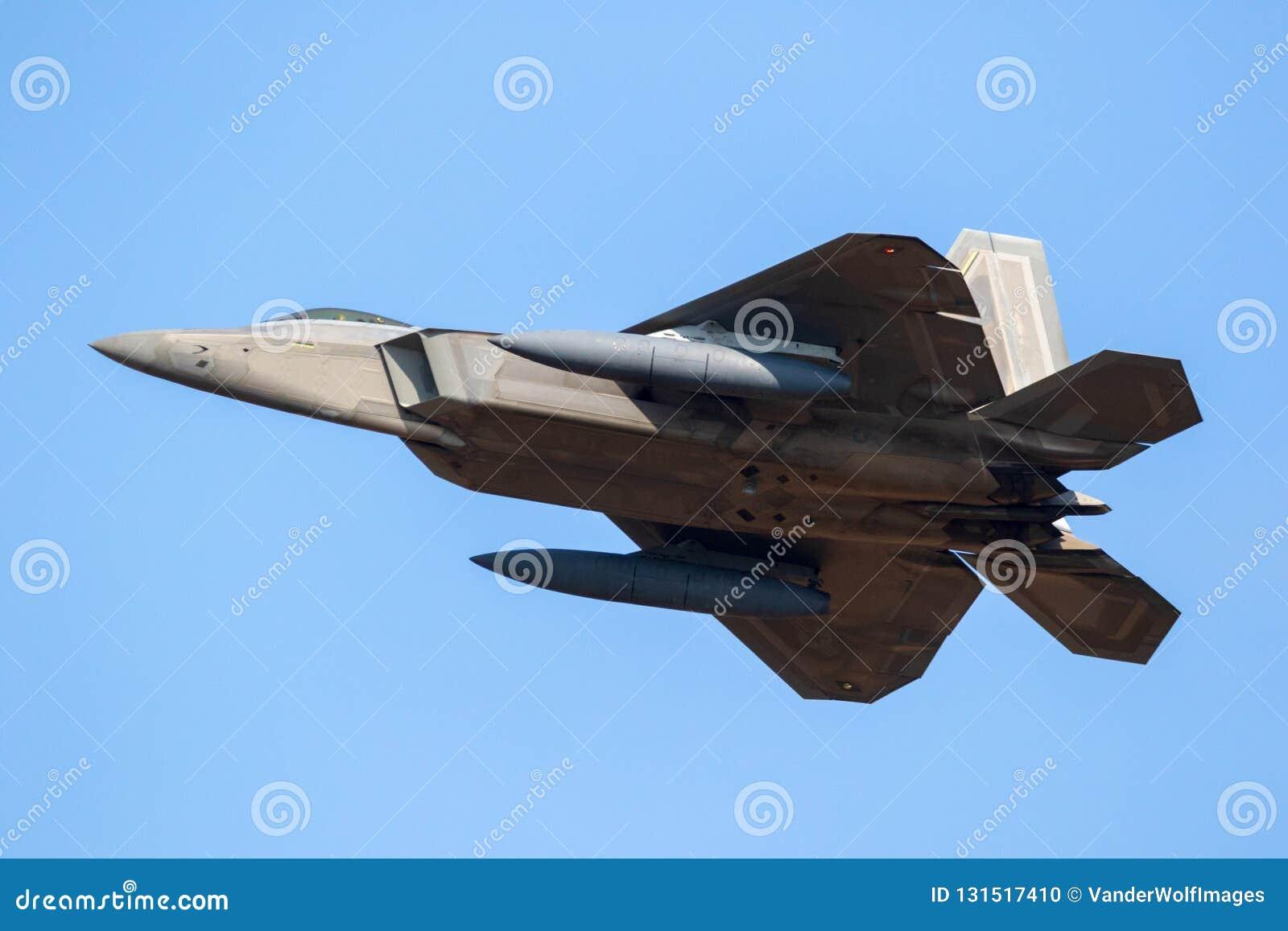 Aviões de avião de combate do discrição da ave de rapina da força aérea de E.U.F-22