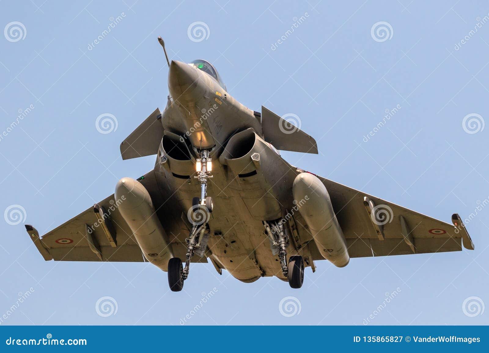 Aviões De Avião De Combate Franceses De Dassault Rafale Da