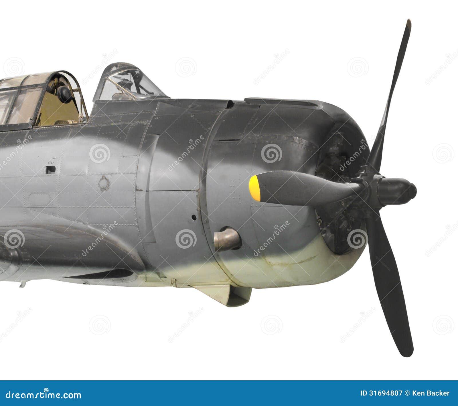 Aviões de bombardeiro do mergulho do vintage isolados