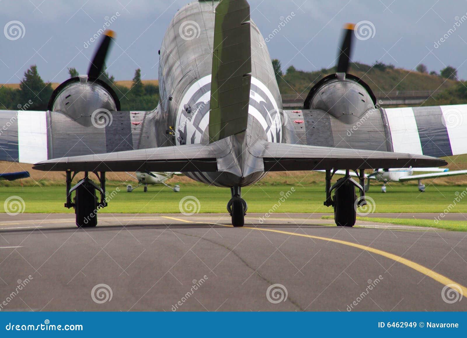 Aviões de Dakota do C-47 de Douglas