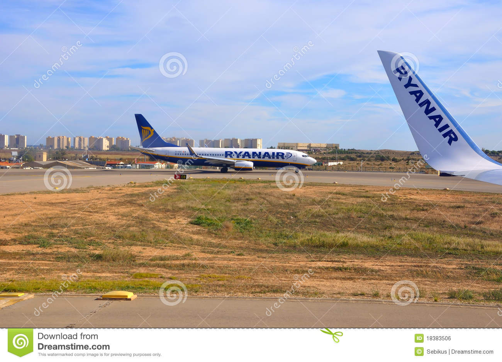 Aviões de Ryanair