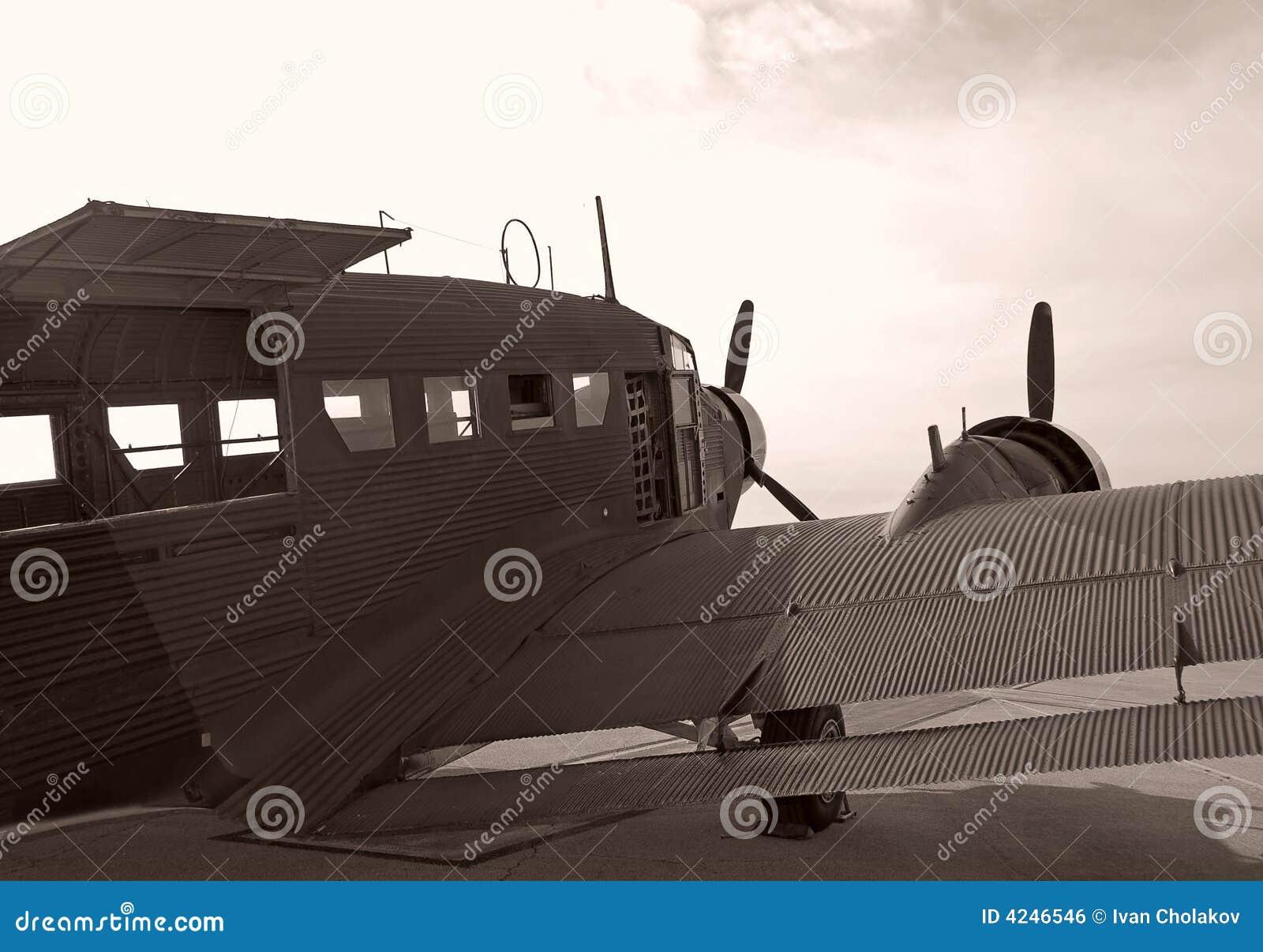 Aviões do vintage