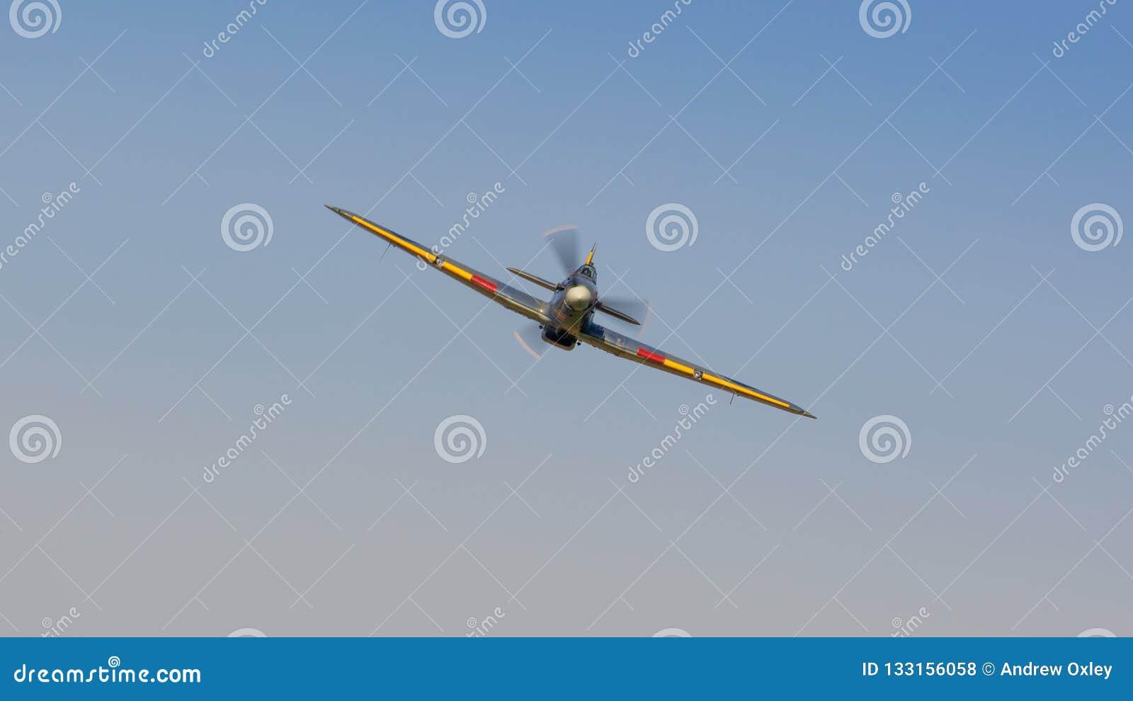 Aviões do vintage de Hurricane do vendedor ambulante