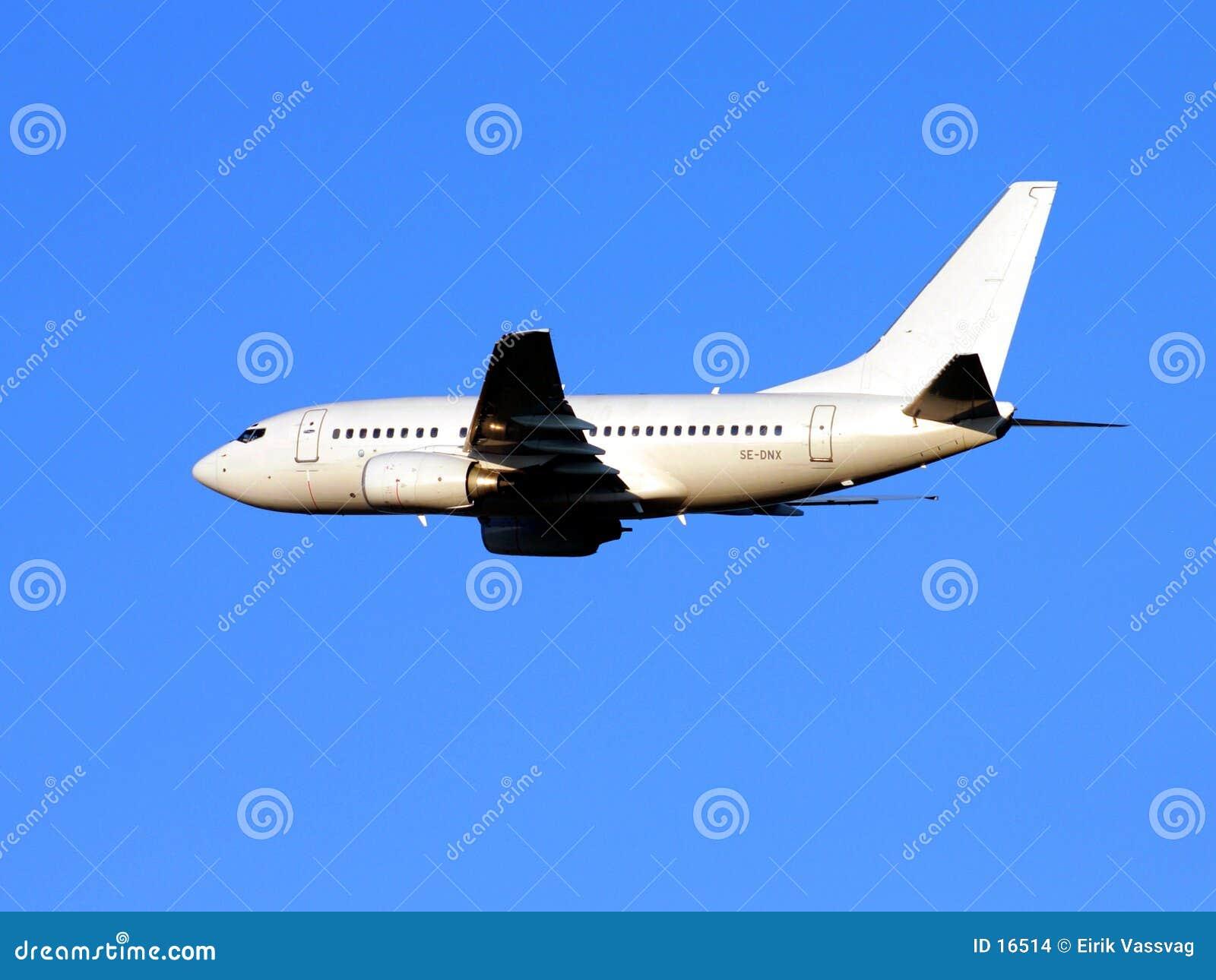 Aviões no vôo