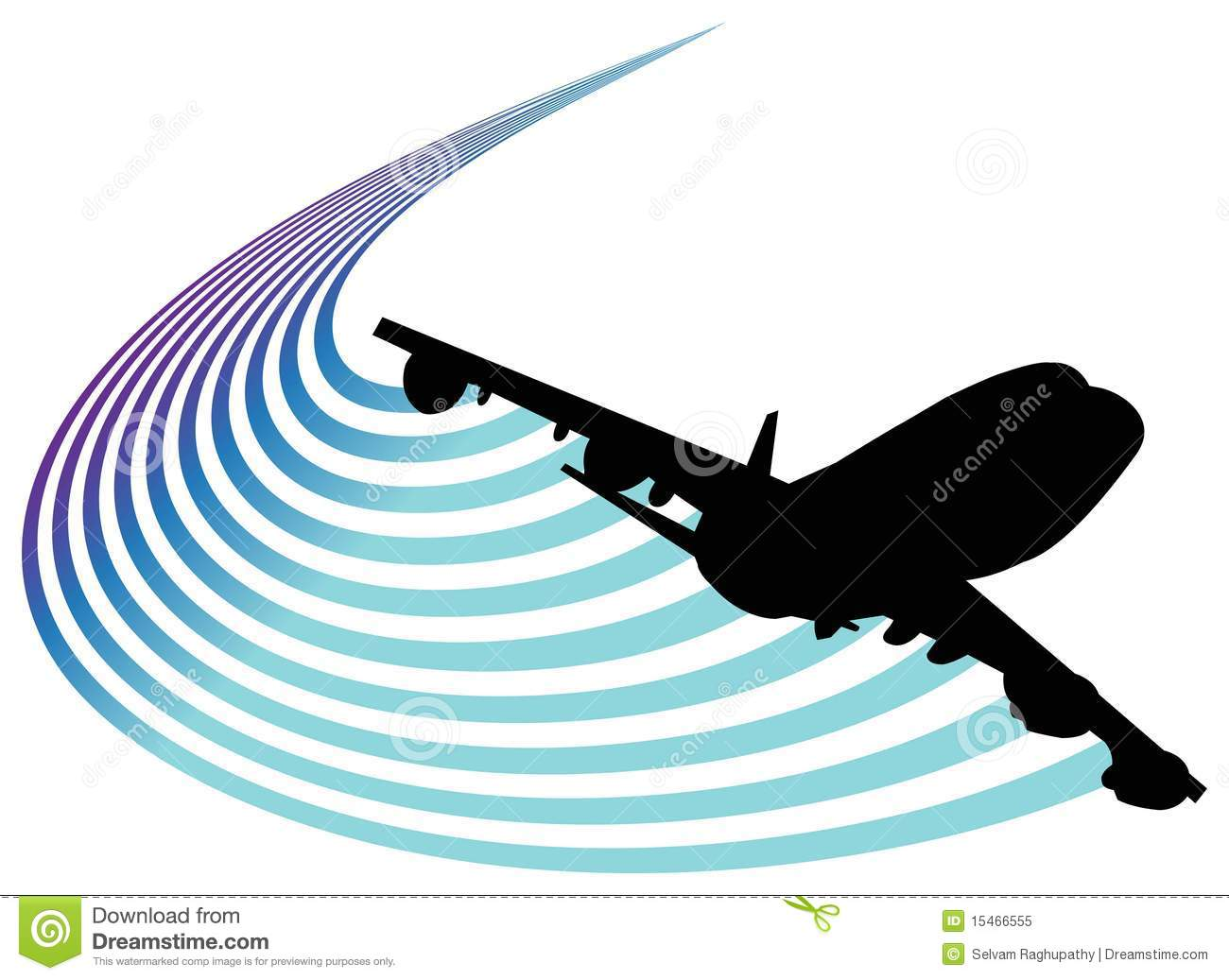 Aviation Logo Stock Vector Illustration Of Routes