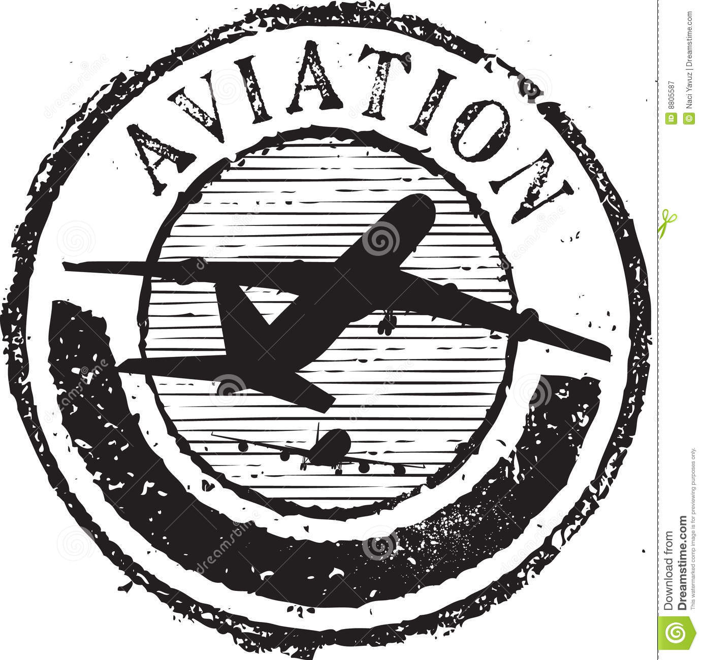 Aviation stamp