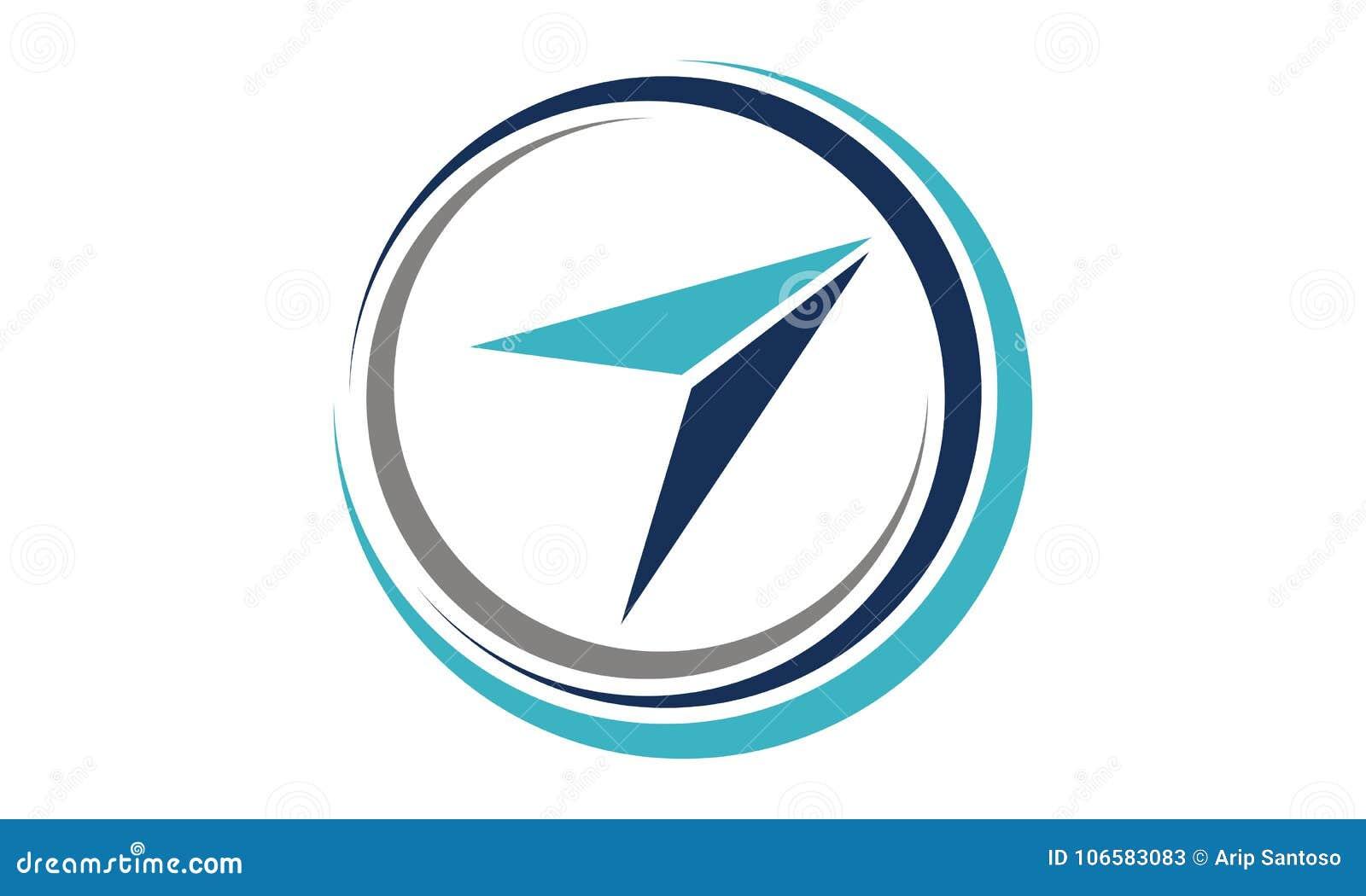 Aviation Training Logo Design Template