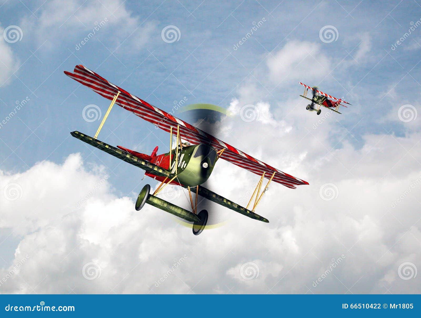 Aviões De Combate Alemães Da Primeira Guerra Mundial