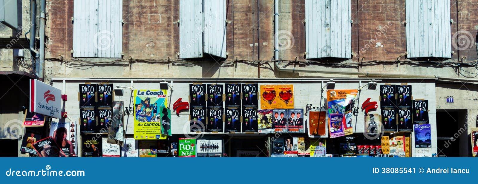 Avignon theatre festival posters
