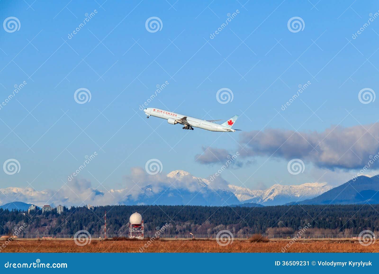 Avion d Air Canada