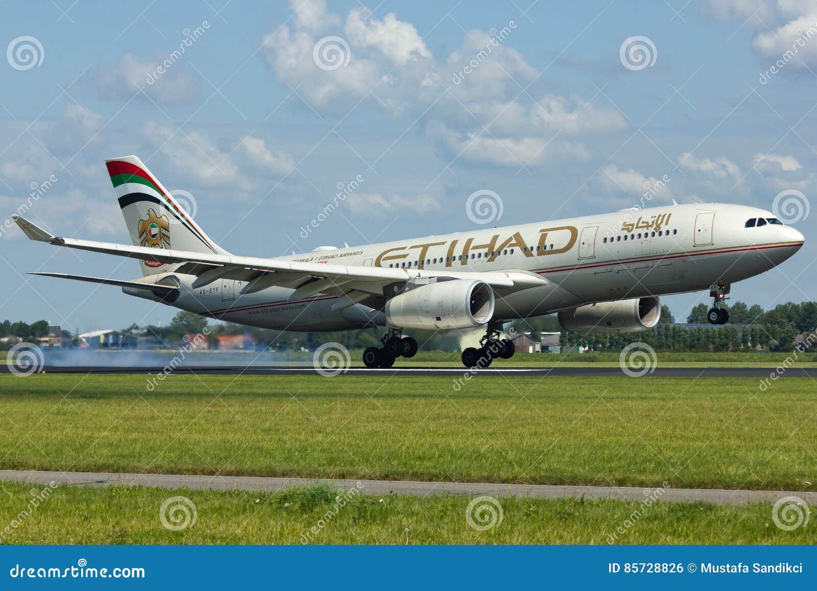 Avion d Etihad Airways Airbus A330