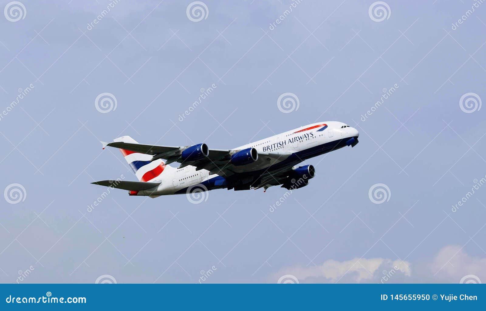 Avion de British airways