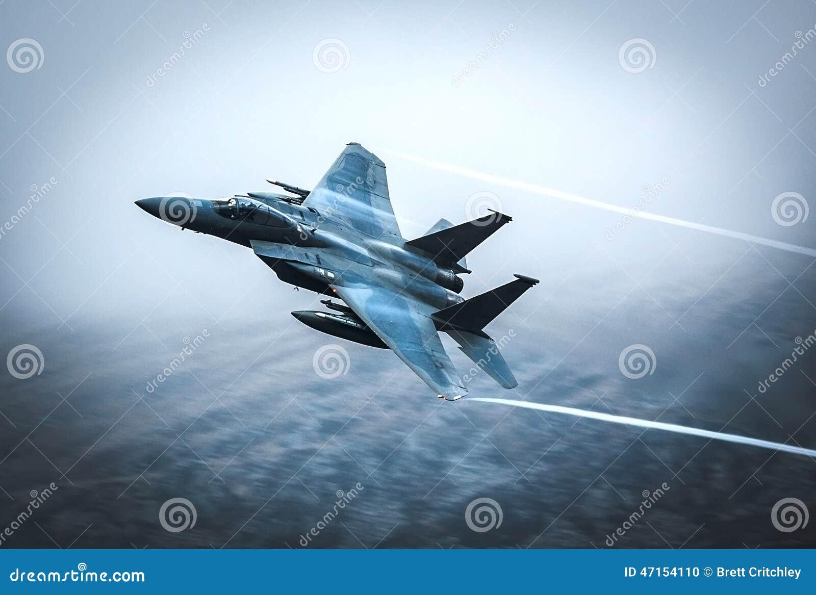 Avion de chasse F15