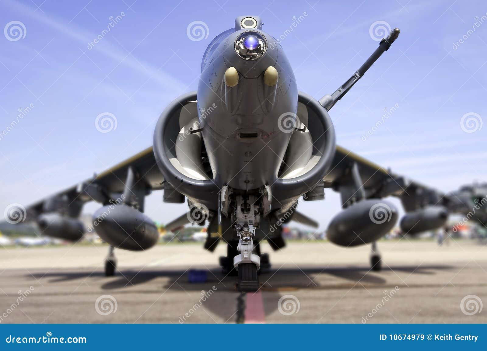 avion de chasse moderne profondeur de zone images libres de droits image 10674979