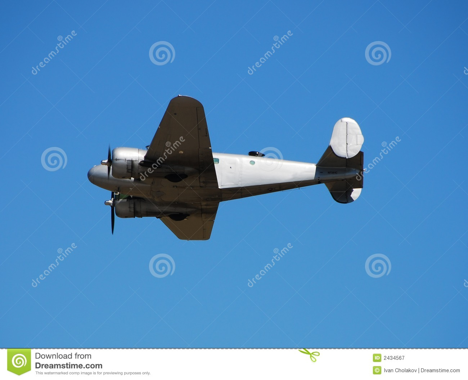 Avion de propulseur de cru