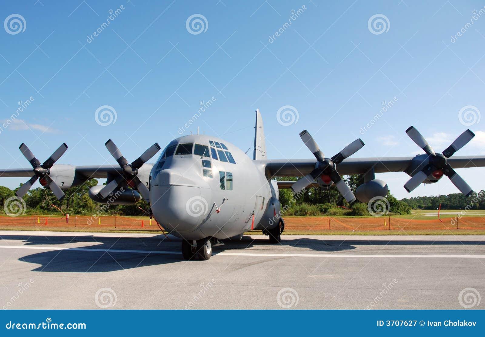 avion de transport de l 39 arm e de l 39 air d 39 usa image stock. Black Bedroom Furniture Sets. Home Design Ideas