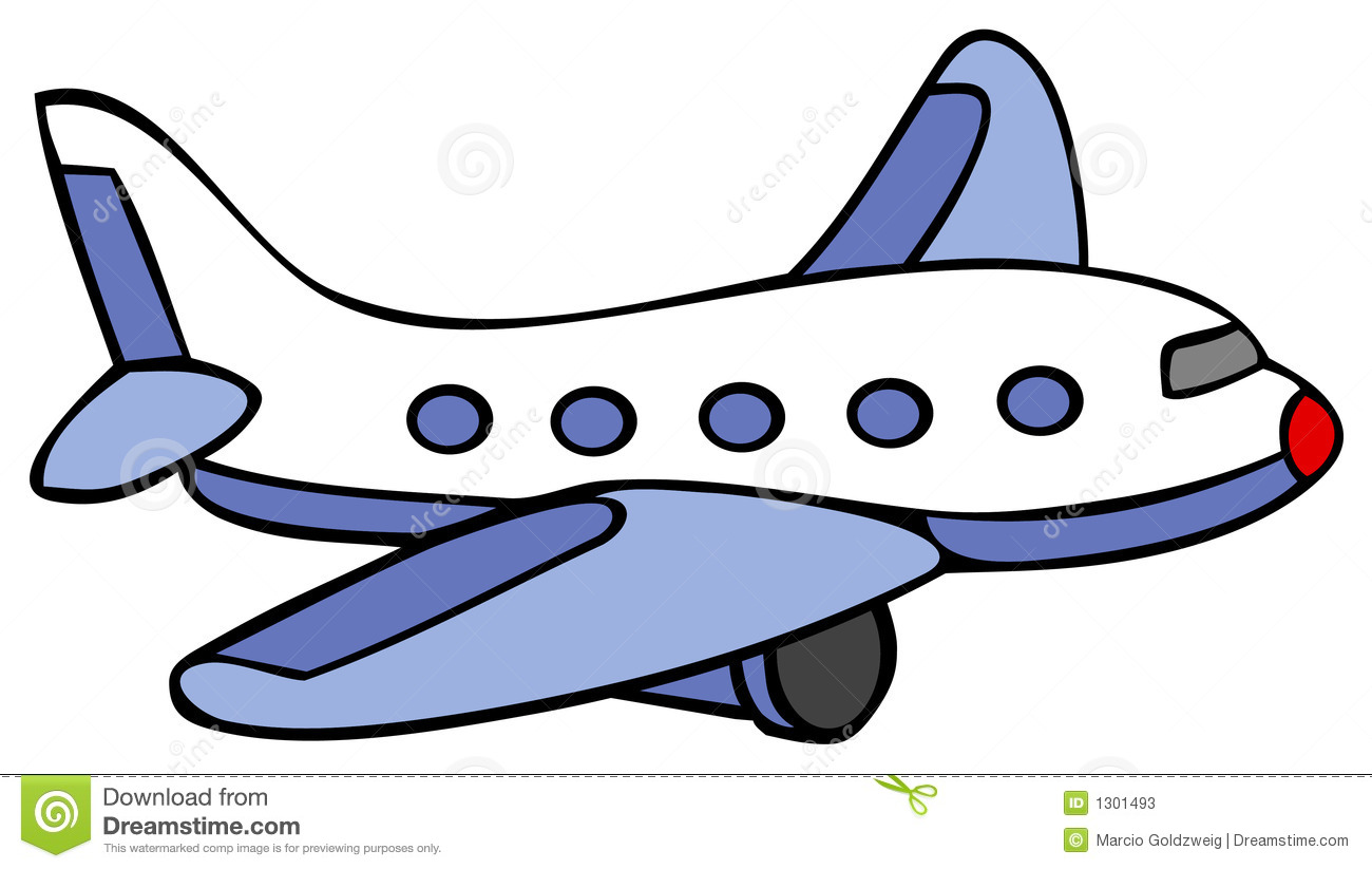 Avion bande dessin illustration de vecteur illustration - Dessin de avion ...