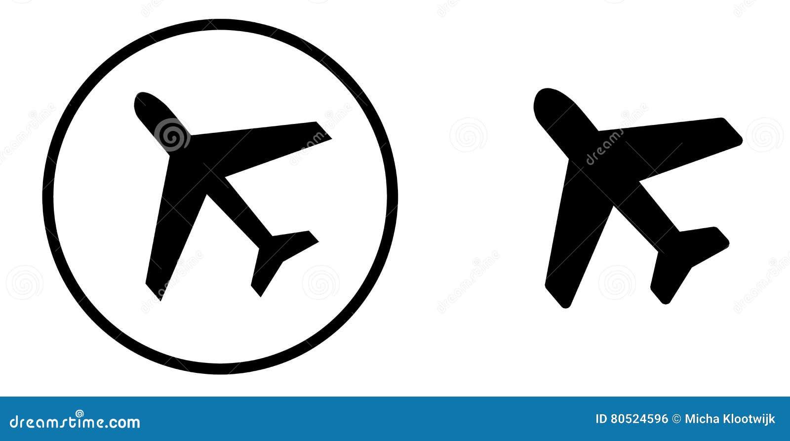 avion noir et blanc illustration stock illustration du culture 80524596. Black Bedroom Furniture Sets. Home Design Ideas