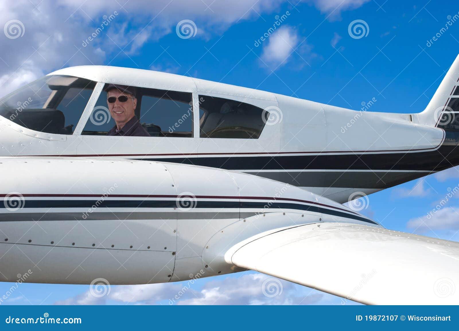 Avion pilote de vol, aviateur dans Aircarft