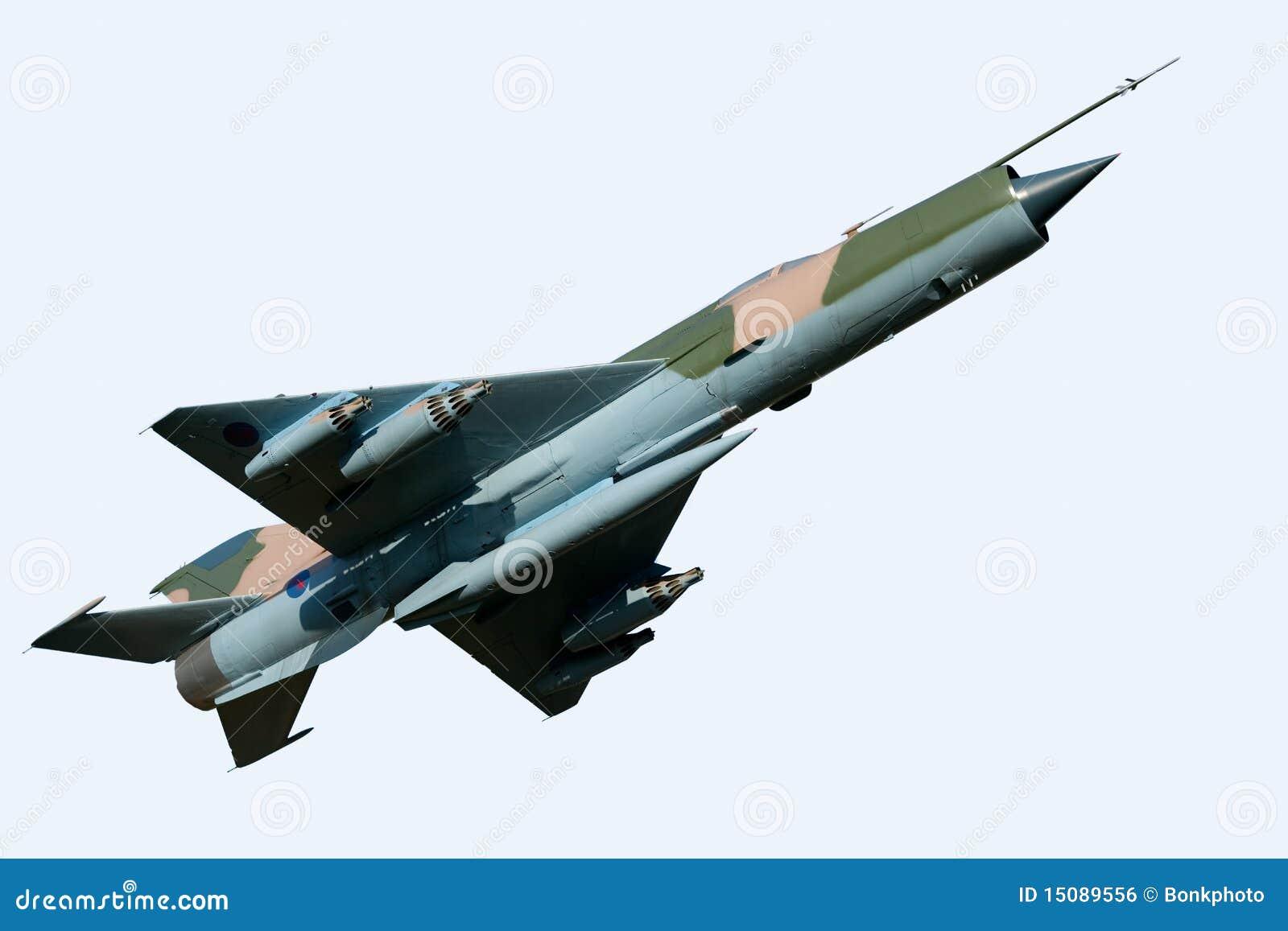 Aviones del MiG 21