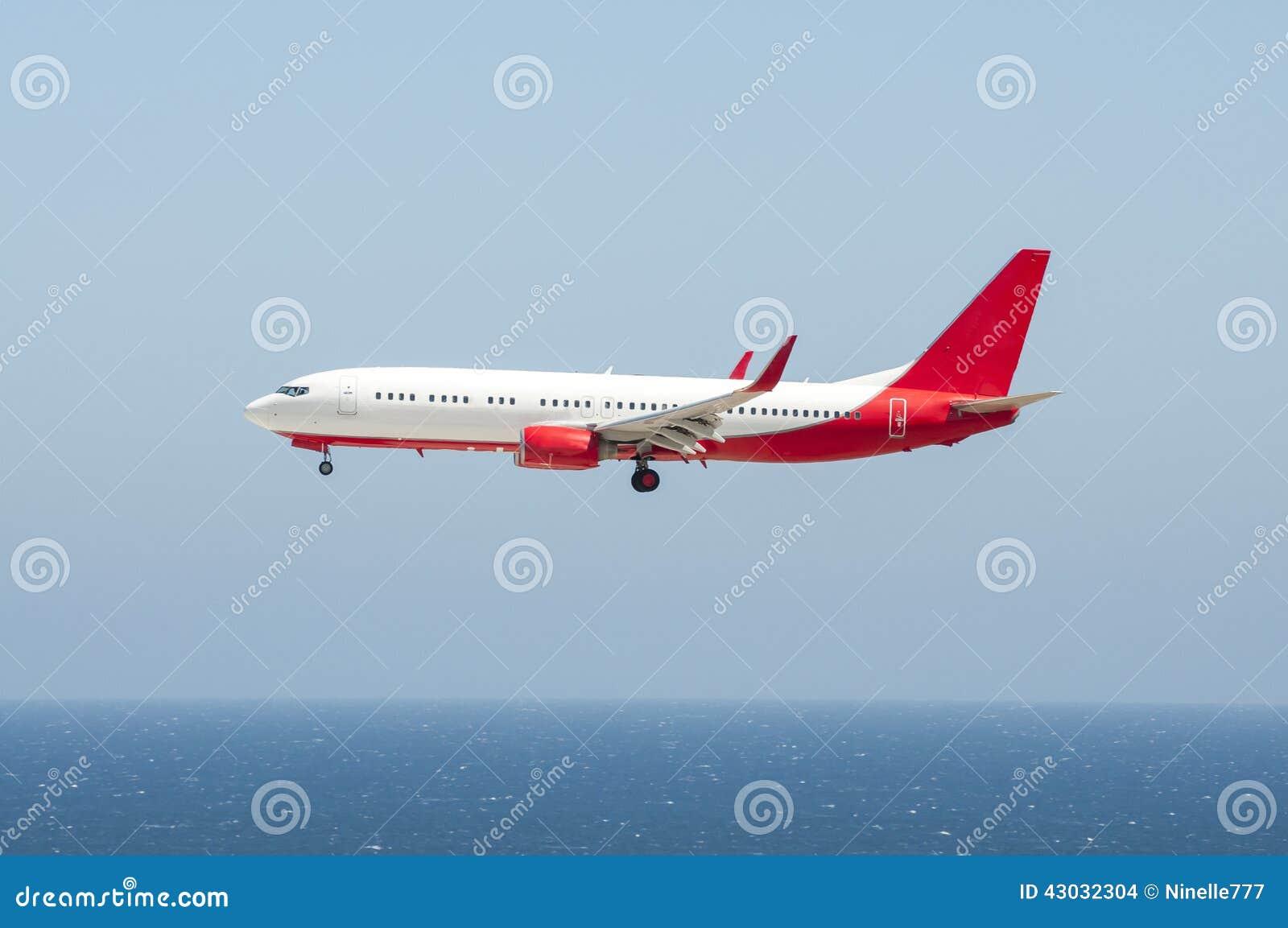 Aviones en acercamiento final