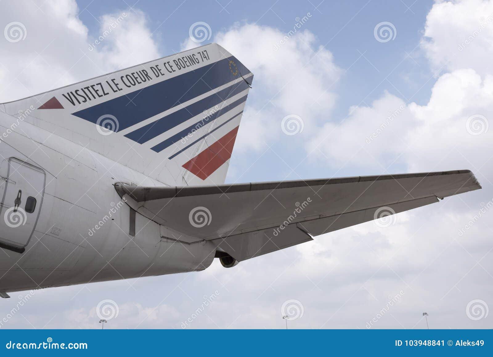 Avions Boeing 747 dans le musée de l astronautique et de l aviation