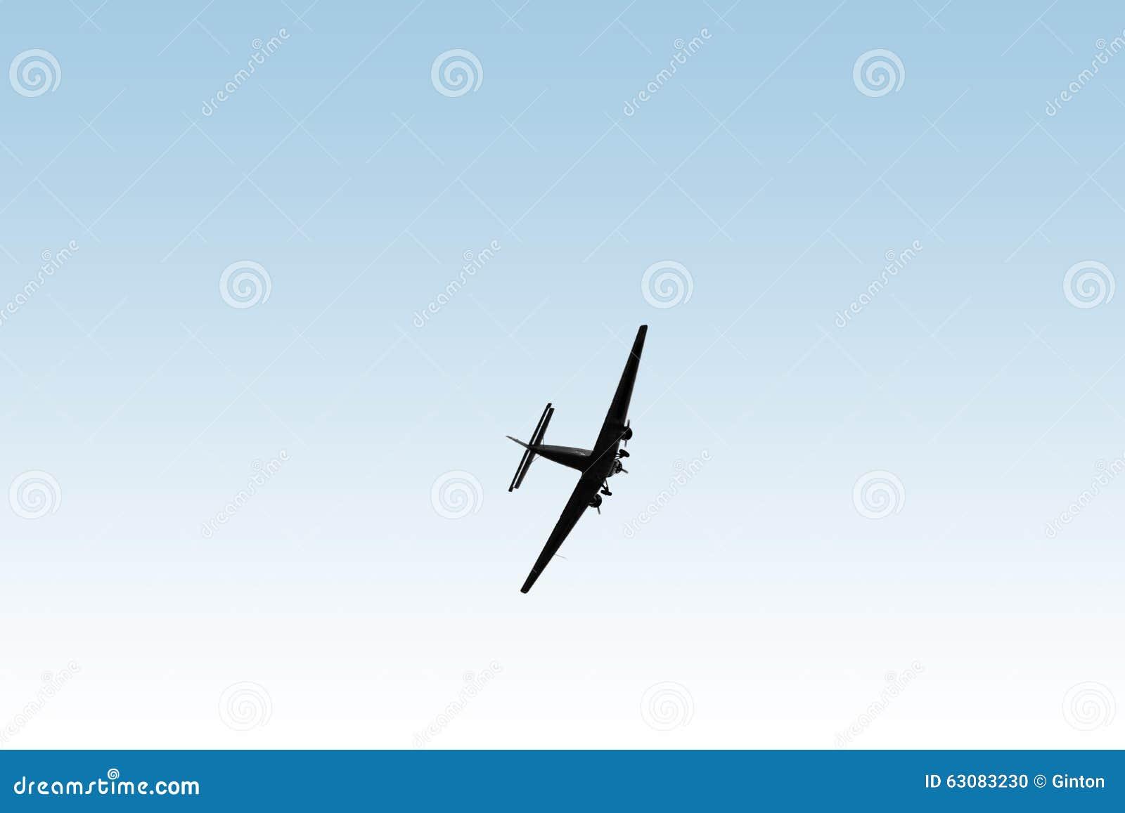 Download Avions De Ju 52/3m De Vieux Clous Photo stock - Image du moteur, vieux: 63083230