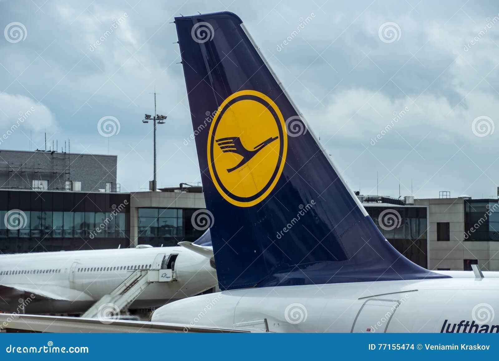 Avions de Lufthansa sur le terminal de l International A de Francfort