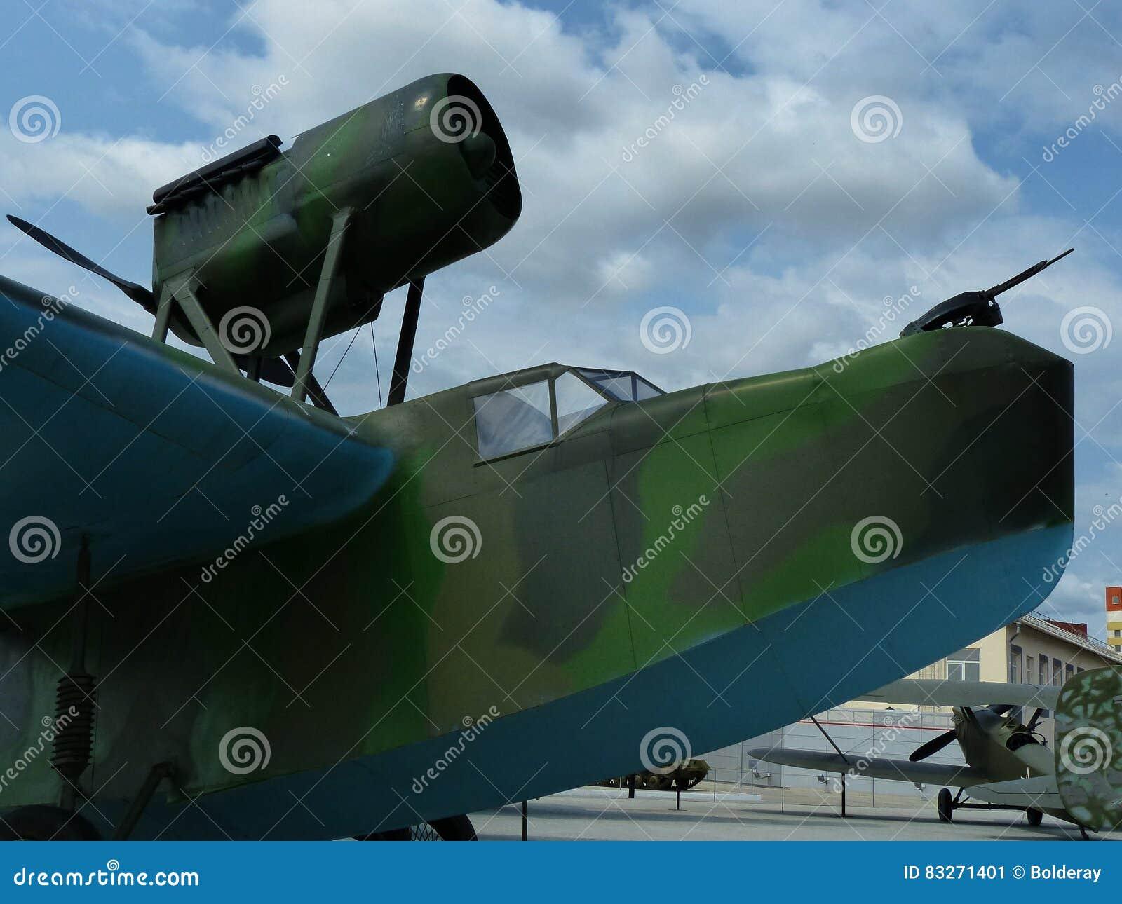 Avions de reconnaissance maritime MBR-2 closeup Été