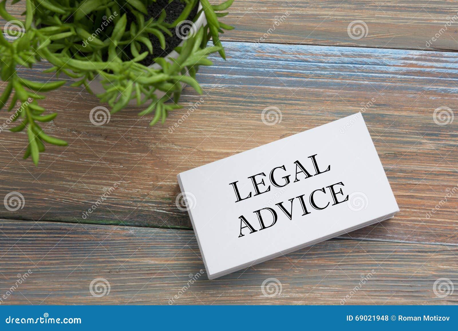 Avis Juridique Carte De Visite Professionnelle Avec Le Message Et La Fleur Fournitures