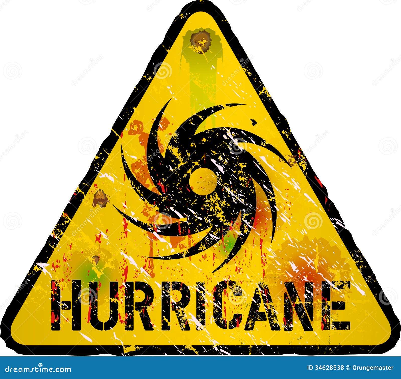 Aviso do furacão