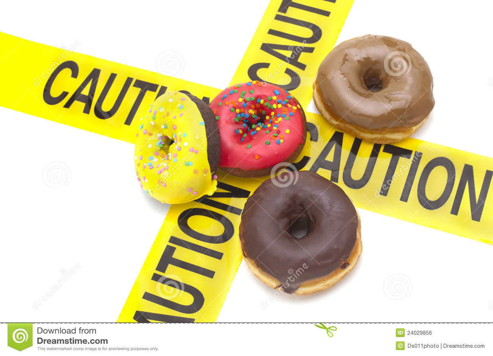 Aviso elevado dietético da caloria
