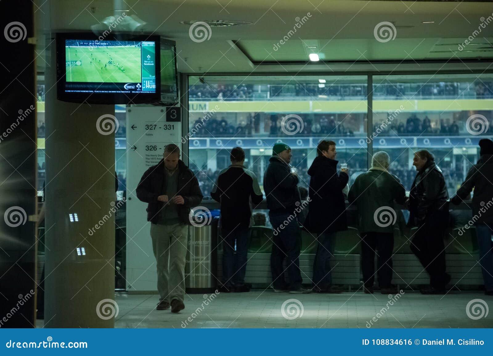 Aviva Stadium. Dublin. Ireland
