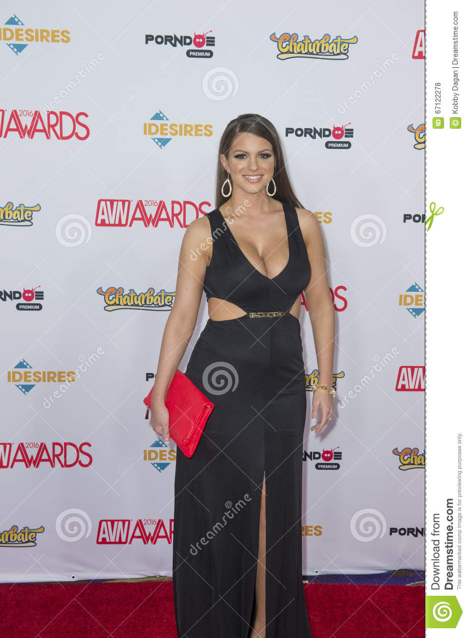 2016 Avn Awards Editorial Stock Photo Image Of Sexuality