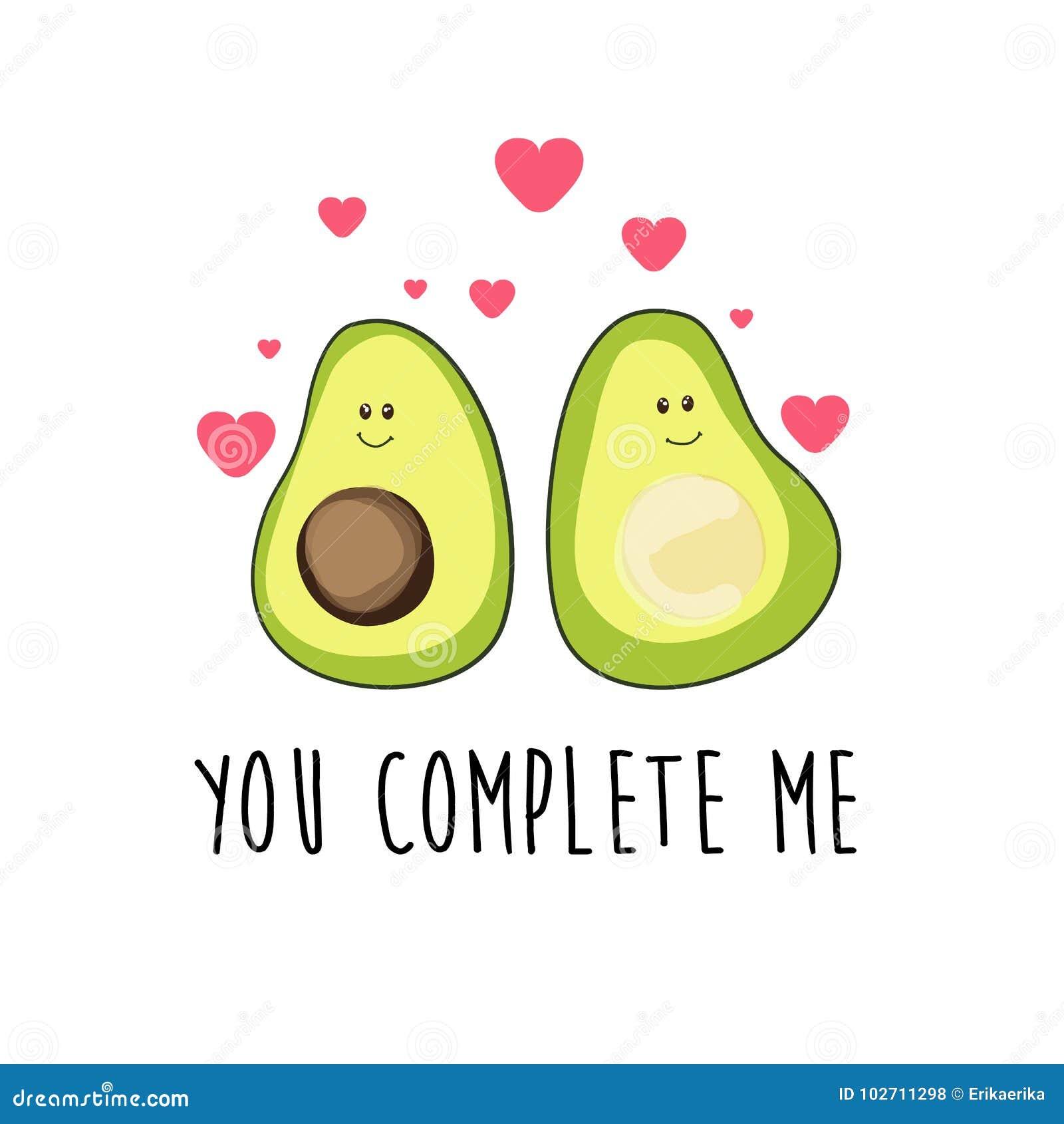 Avocado Stock Illustrations