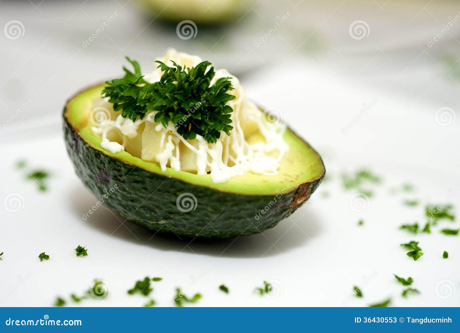 Avocado Dessert Stock Photos - Image: 36430553