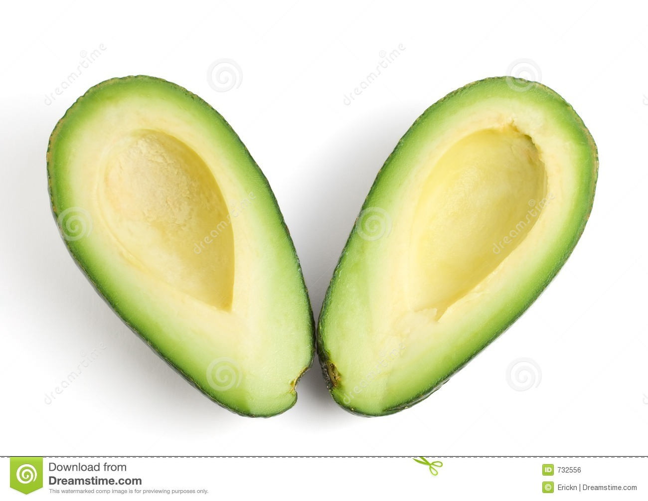 Avocado halves stock photo. Image of healthy, nutritive ...