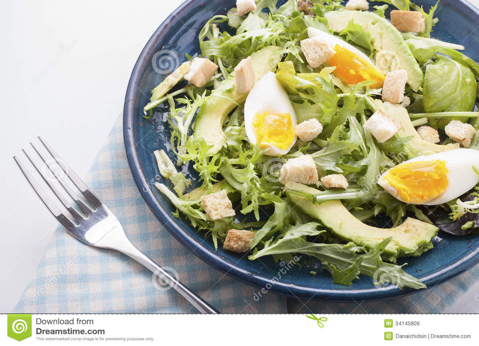 Avocado sałatka