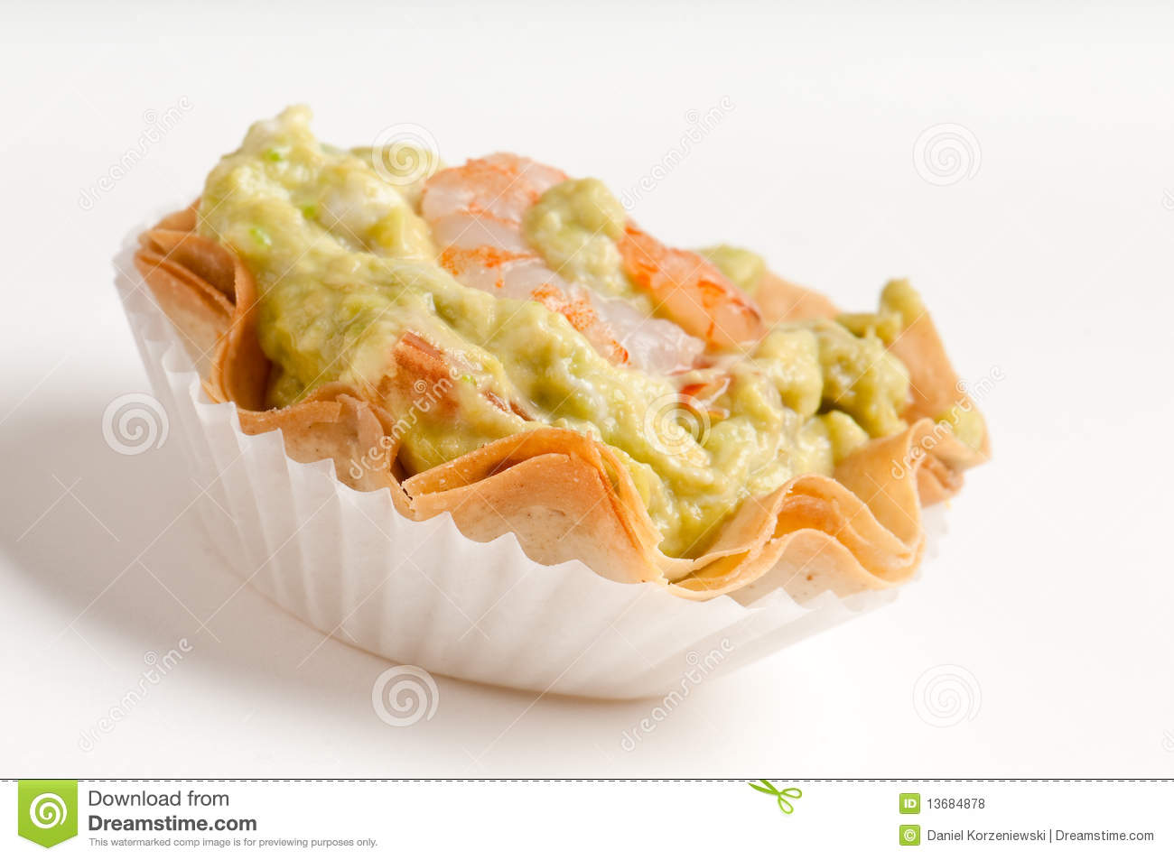 Avocado and shrimp voulavent royalty free stock photos for What does canape mean in french