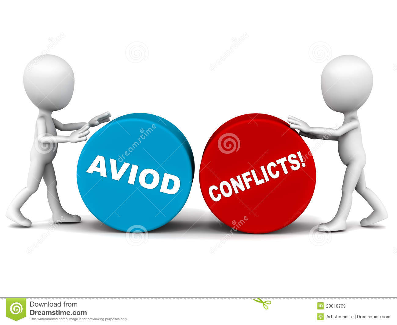 how to solve conflict with co worker