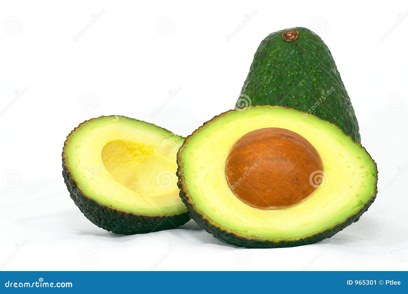Avokado klippt green
