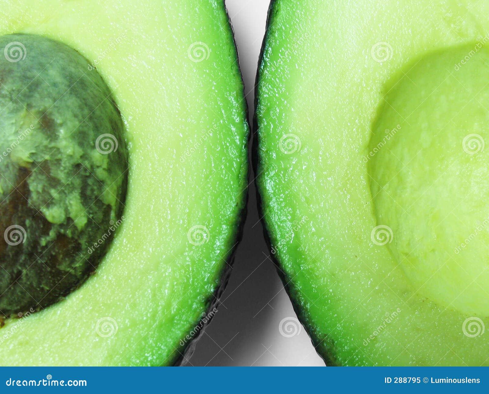 Avokadohälfter