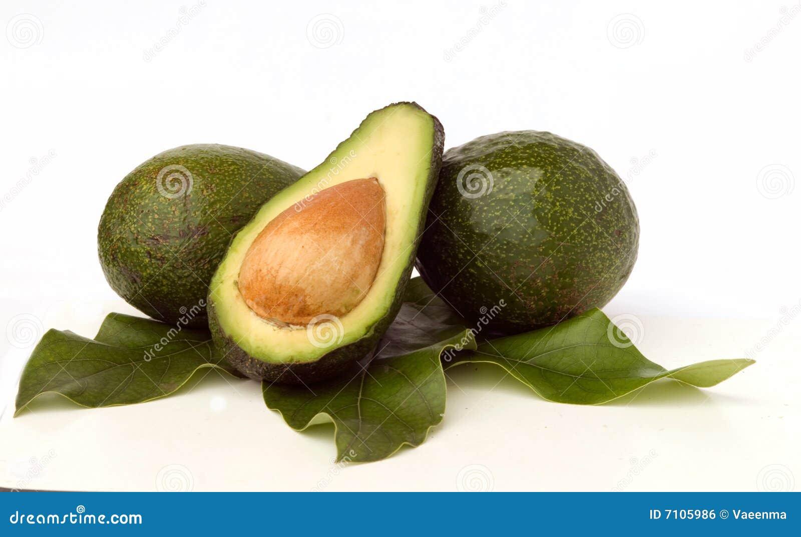 Avokados and avokado section