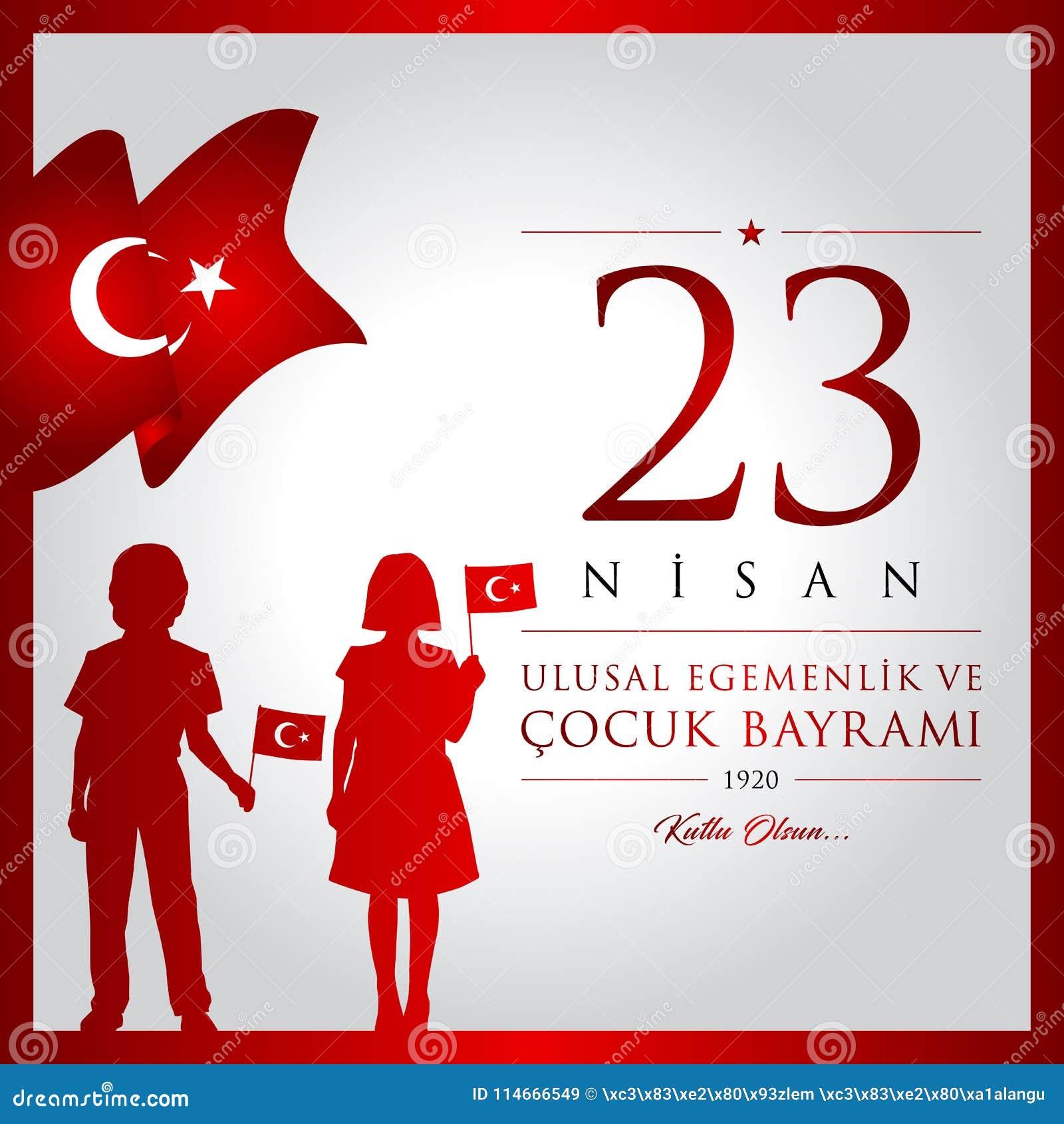 23 avril, jour du ` national s de la souveraineté et d enfants