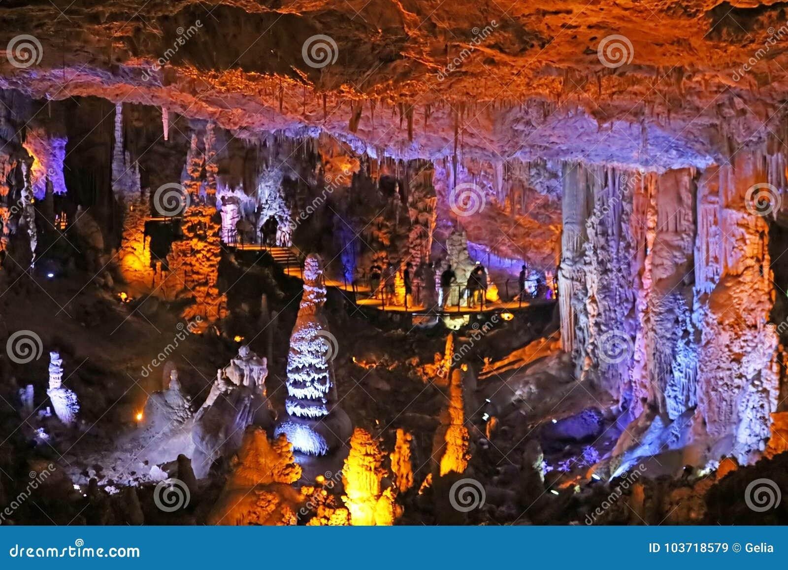 Maximillian Shemesh: Avshalom Cave, Also Known As Soreq Cave, A Large